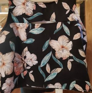 Floral Athletic top